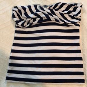 White House Black Market Bandeau Top